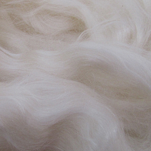 Cashmere Silk Fibers from Weaver Creek Fibers